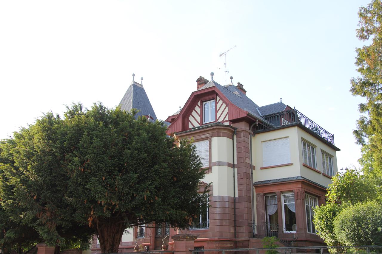 Architecture de maison de maître à wasselonne