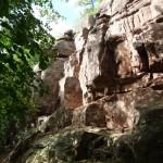 Les murs d'escalades du kronthal