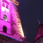 Illuminations lors du marché de noël de Wasselonne