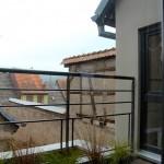 le59 gite sur les toits - balcon