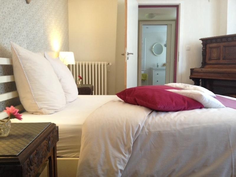 GITE CHARME ALSACE LA TERRASSE chambre1 room1 Zimmer1
