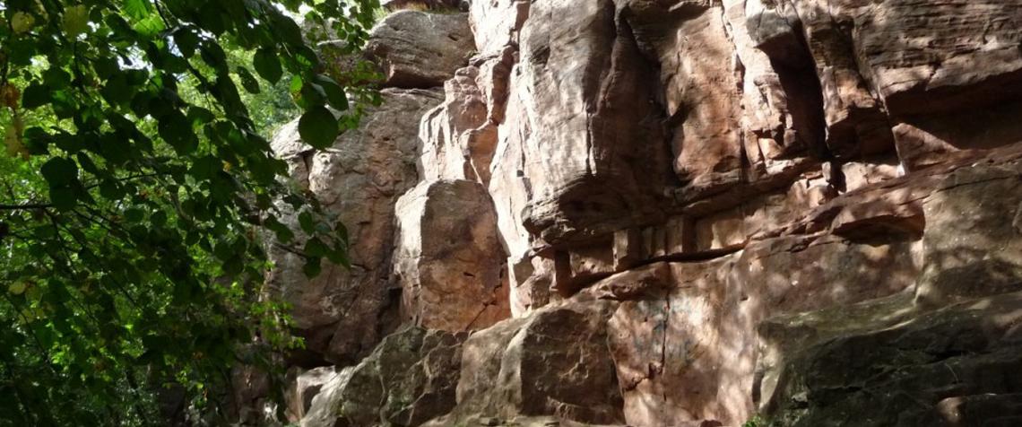 Kronthal, falaise d'escalade